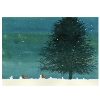 XM142 Squirrels in the Snow by Anita Jeram