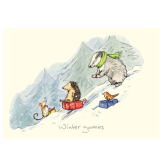 XM144 WINTER GAMES by Anita Jeram