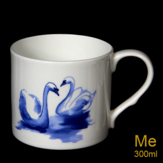 Two Blue Swans Mug