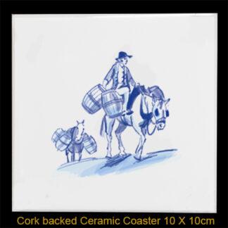 Coaster Beer Horses