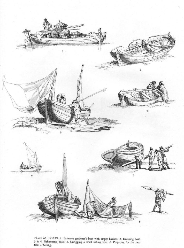 Delft Boat Tableware
