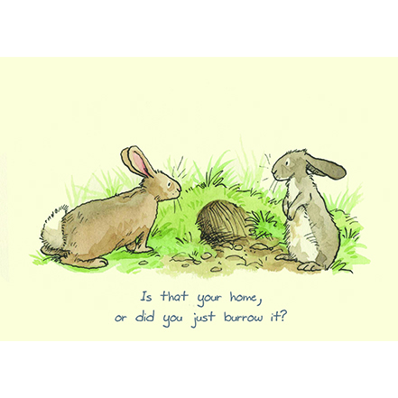 Is that your home card by Anita Jeram