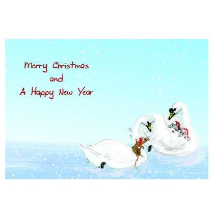 white swan insert
