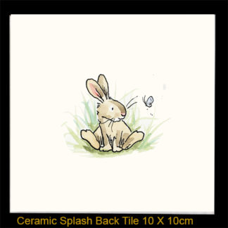 rabbit with butterfly by Anita Jeram