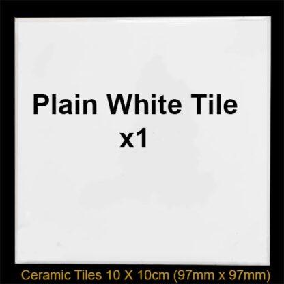 white splash back tile