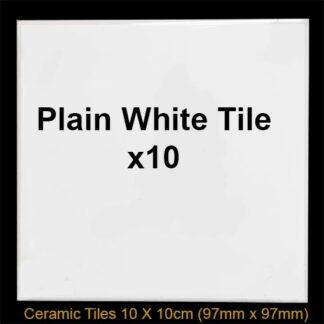 10 white splashback tiles