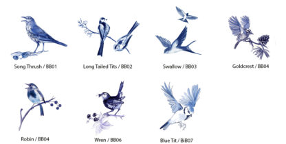 garden birds by Julian Williams