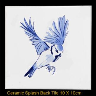 Blue Tit Splash Back Tile Julian Williams