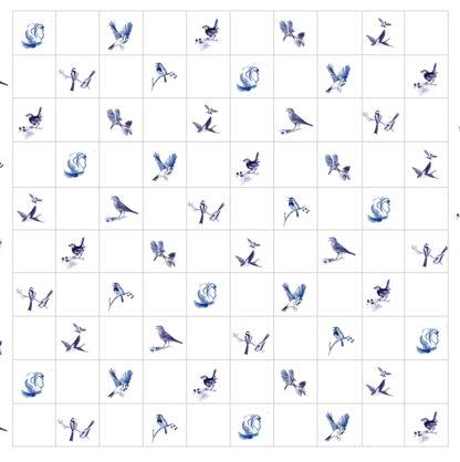 Birds layout tiles Julian Williams