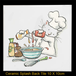Ketchup Splashback tile by anita jeram