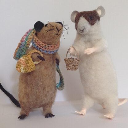 Anita Jeram Shopping Felt Animals