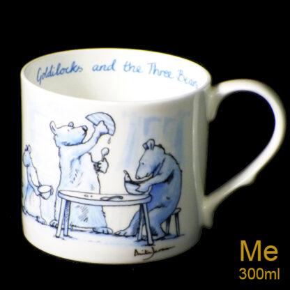 Anita Jeram Goldilocks mug