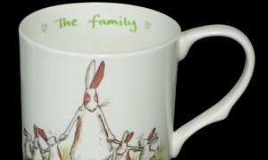 GSM1 The Family Mug with a New Baby Card