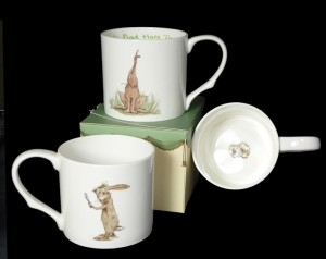 GSM30 Bad Hare Day Mug & Card Gift Set