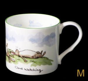 GSM20 Cloud Watching Mug & Card Gift Set