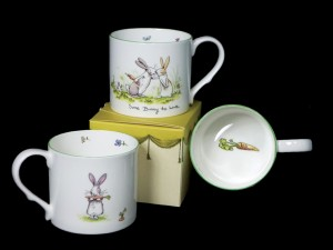 GSM177 Bunny to Love Mug & Card set