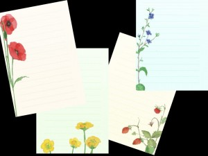 SMPF1 Meadow Flowers Memo Pad