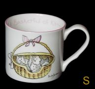basketful of kittens mug